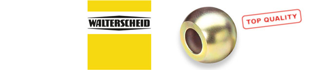 Walterscheid Logo and Coupling Ball